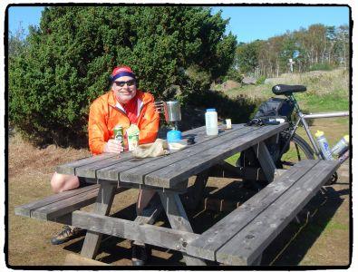 Cykeltur 1809 Lunch Näst Sista Dagen